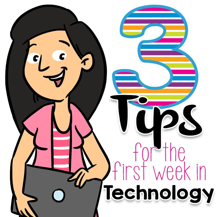 three solid tips for starting the year on the right track with your technology students. These are things you can have prepared before the students ev…