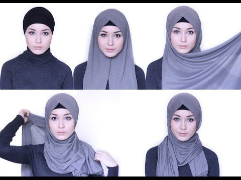 HIJAB TUTORIAL Everday simple style - YouTube