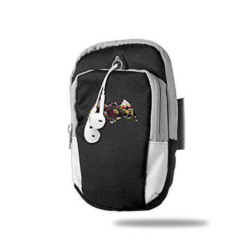 CGHFW Homestuck John Egbert Outdoor Sports Multifunctional Pockets Arm Bag Zipper Gym Running Sport Workout Armband For Trekking Hiking Cycling
