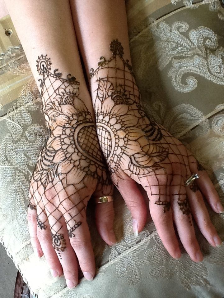 Victorian Henna Lace Gloves by ~flowerwills on deviantART