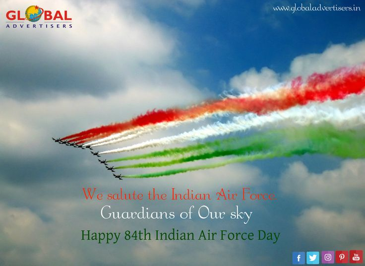 Touch The Sky With Glory! Happy 84th Indian Air Force Day! #IAFDay #indianairforce