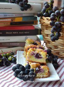 """DOLCISOGNARE: Torta """"reading club"""" all'uva fragola"""