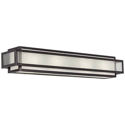 "Minka Camden Square 30"" Wide Charcoal Bath Light - #5K247 
