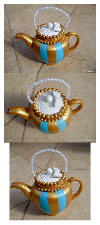 Teapot bag - Madeline Hatter by Kerl-hau