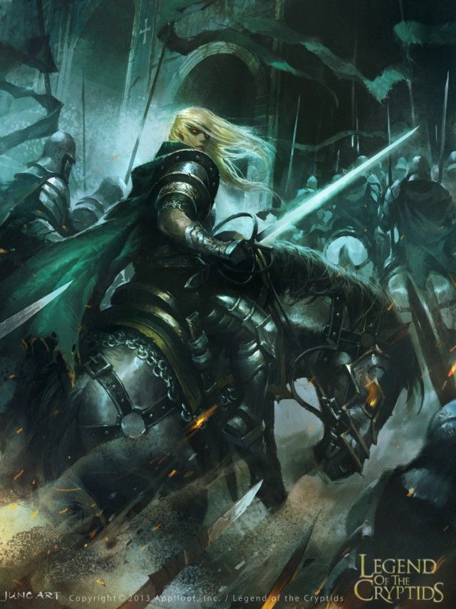 Legend of the Cryptids by Wenjun Lin 01   Fantasy Art ...