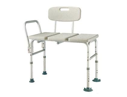 heavy duty bariatric aluminum frame bathtub transfer benchbath chair with back wide
