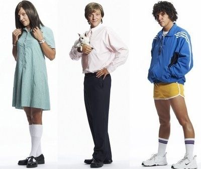 Chris Lilley's characters on Summer Heights High | 25 Clever Halloween Costumes To Wear As A Group