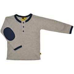 T-shirt l/æ - Elbov - Grey fra Krutter