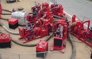 Sewer Bypass Pumping Article with slideshow containing the basic facts on bypass pumping requirements for a successful project.