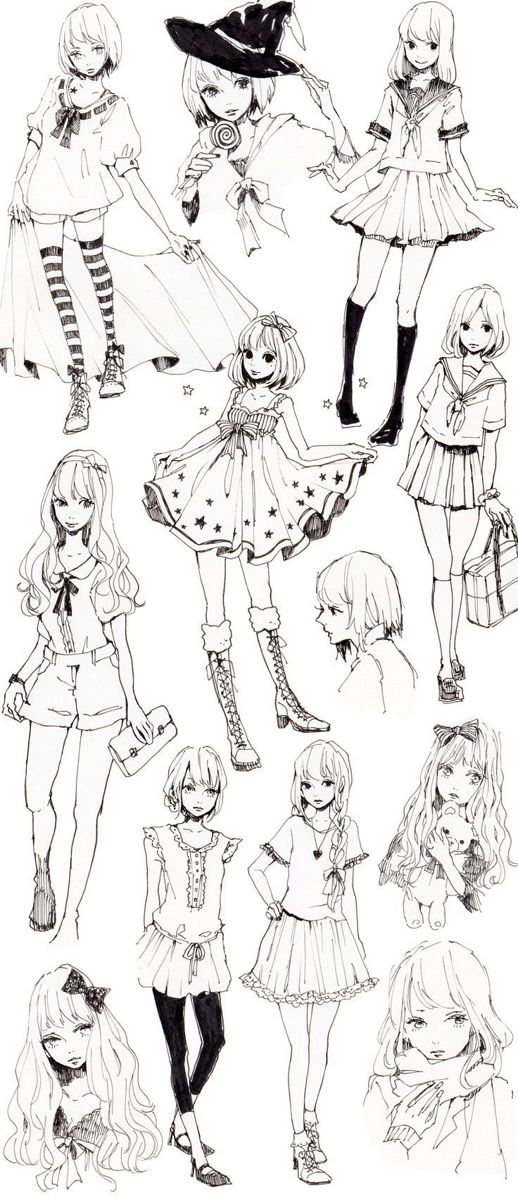 best anime images on pinterest character design drawing ideas