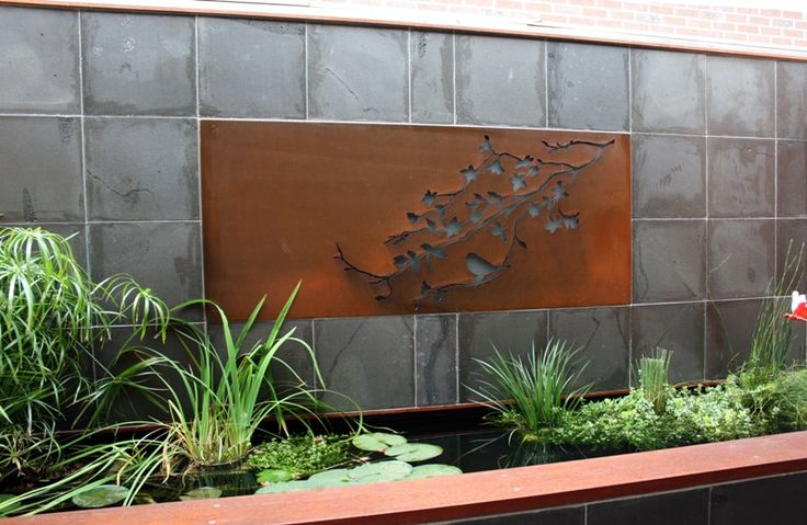 Outdoor Wall Art Ideas Pinterest : Best images about wall art ideas by entanglements metal