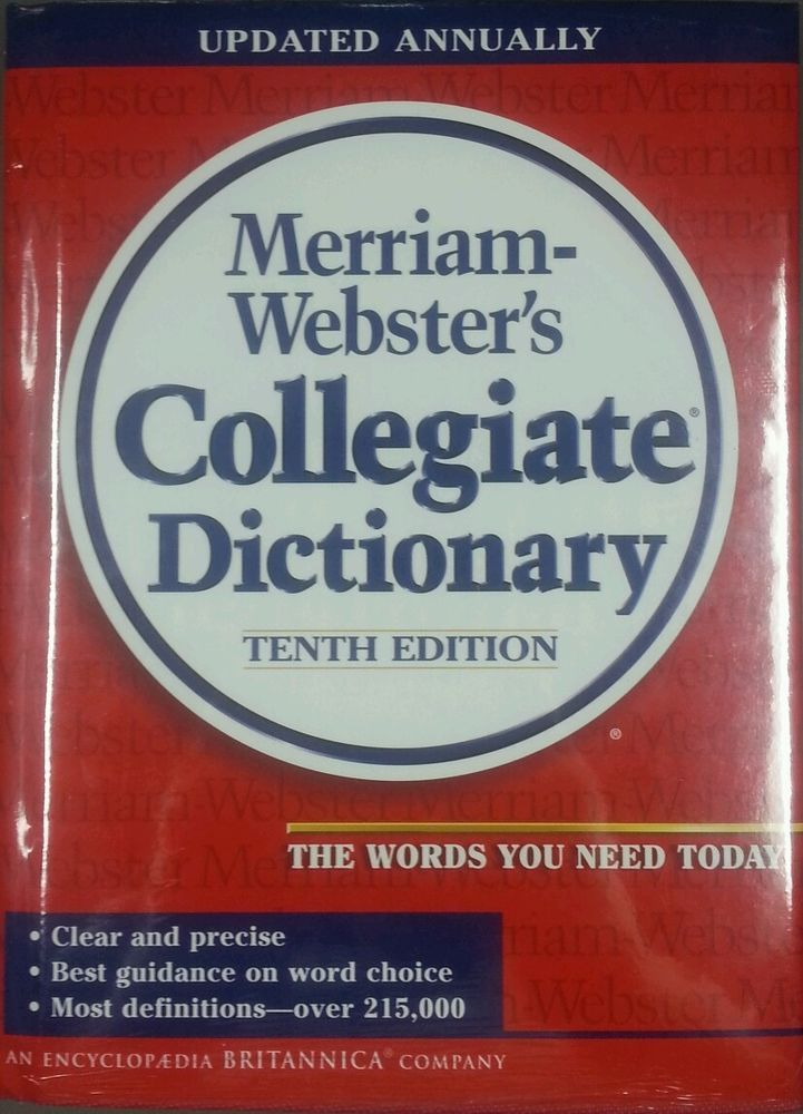 Merriam webster collegiate dictionary 10th
