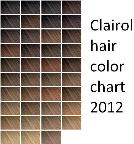 85 Best Hair Color Chart Images On Pinterest Hair