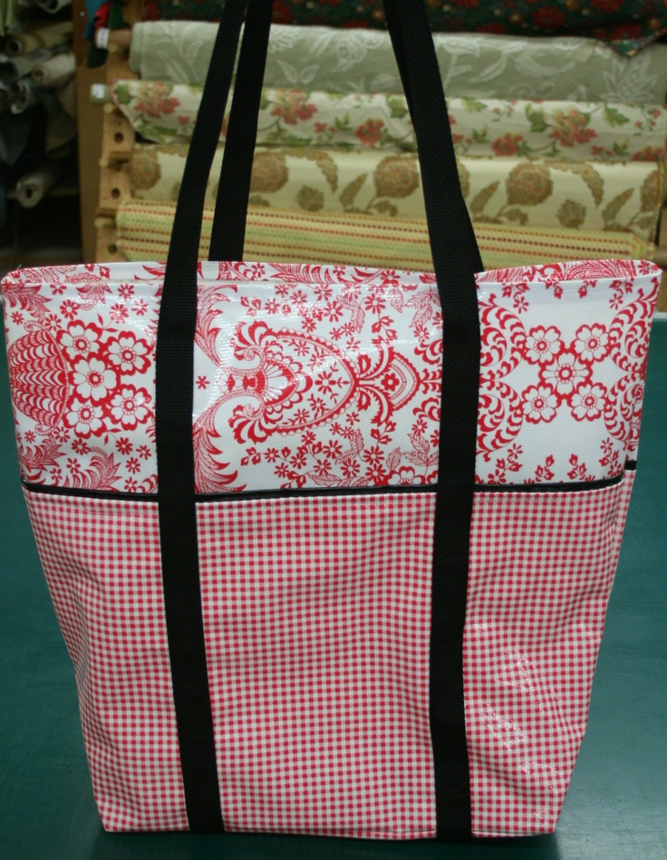 23 best oil cloth images on Pinterest | Cloth bags, Oilcloth and Bag ...
