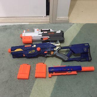 Nerf Longstrike and deploy CS-6 need guns for sale | Toys - Outdoor | Gumtree Australia Fairfield Area - Fairfield Heights | 1120176213