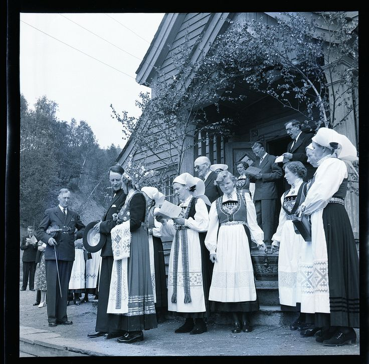 Bondebryllup i Hardanger | by Riksarkivet (National Archives of Norway)