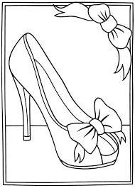 Afbeeldingsresultaat voor high heel shoe card template for High heel template for cards