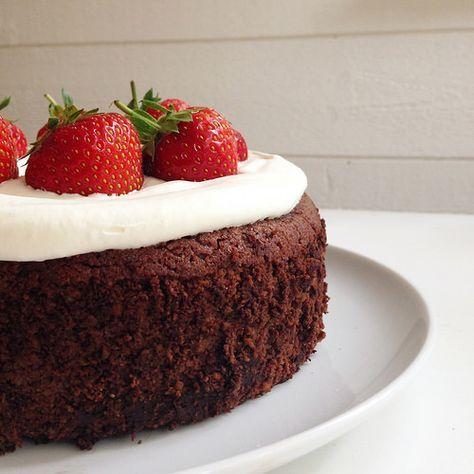 glutenfri sockerfri chokladtårta