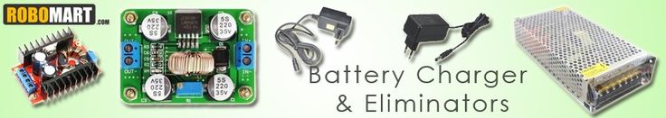Online store for batteries, battery chargers, adaptors and eliminators at best buy prices.