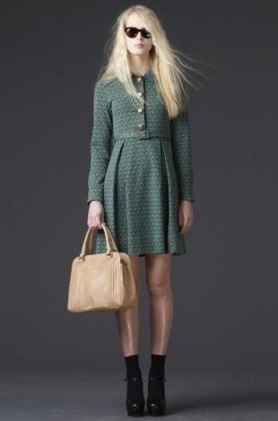 Элегантные платья в стиле 70-х в коллекции Orla Kiely осень-зима 2011-2012 - Модные коллекции - Мода и стиль - Каталог статей - Мэджик Леди - сайт для женщин