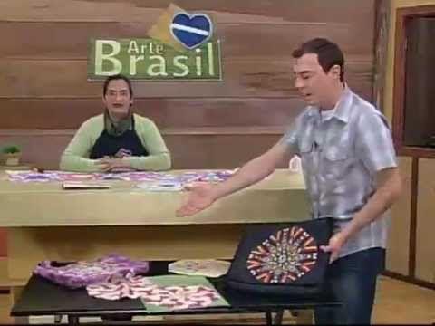 ARTE BRASIL - MARINA UGO - CALEIDOSCÓPIO EM PATCHWORK (24/08/2011)