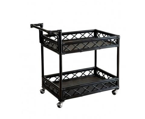 Barbados Drinks Trolley | Black | Caribbean Style Furniture – Salt Living or online at www.saltliving.com.au #saltliving #xavier #furniture #drinkstrolley