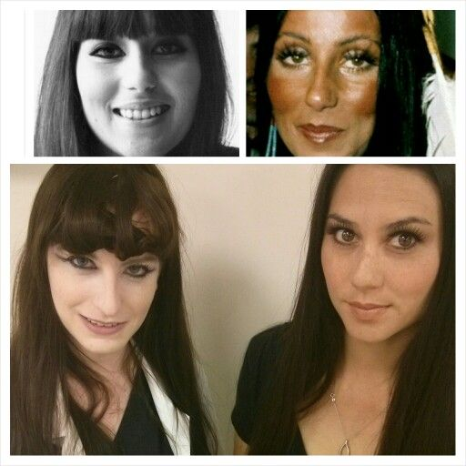 70's Flashback Makeup Inspired-Cher