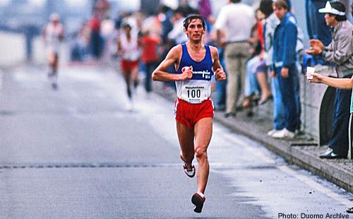 New York City Marathon 1984, 28 ottobre. Orlando Pizzolato (1958)