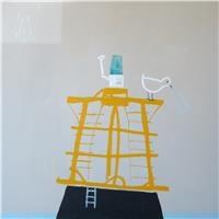"Sally Joubert ""Yellow Buoy""  Mixed media on canvas 110 x 110cm $AUD 4,400.00"