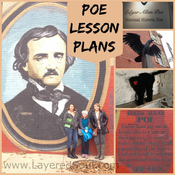 Stacey Lane has put together an amazing unit study on Edgar Allen Poe with lesson plans, reading, writing components