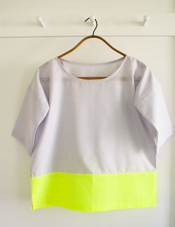 How-To: Three Ways to Make a Stylish Boxy Tee #sewing #shirts #fashion