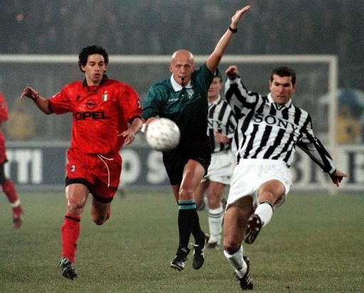 Zinedine Zidane vs. Demetrio Albertini | Juventus vs. AC Milan.