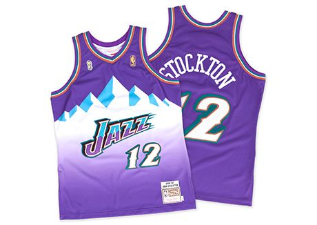 save off 31231 a2cb4 utah jazz mitchell and ness jersey