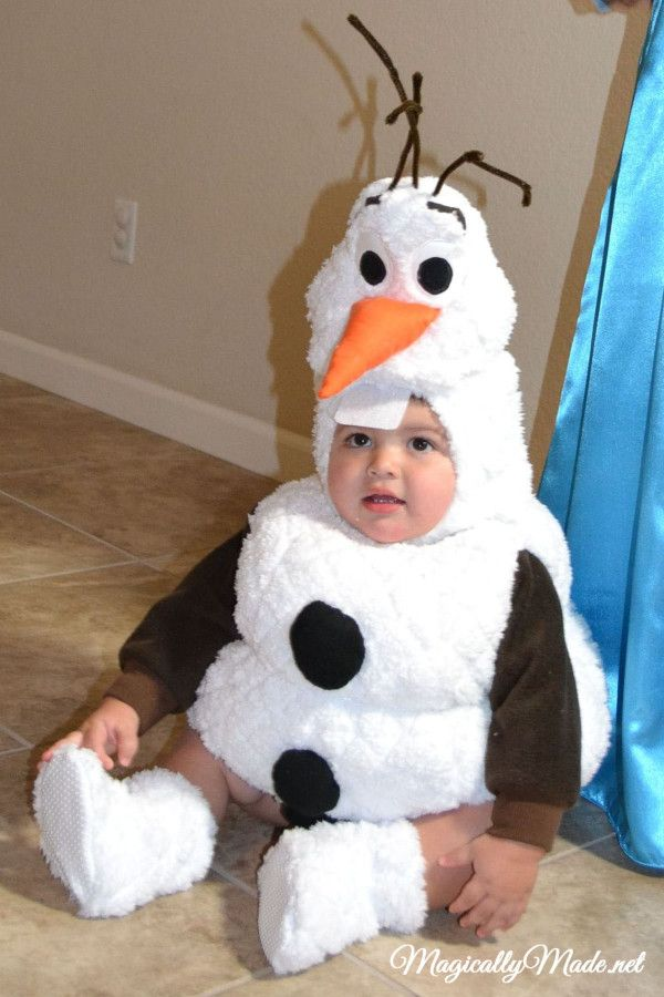 Olaf costume toddler
