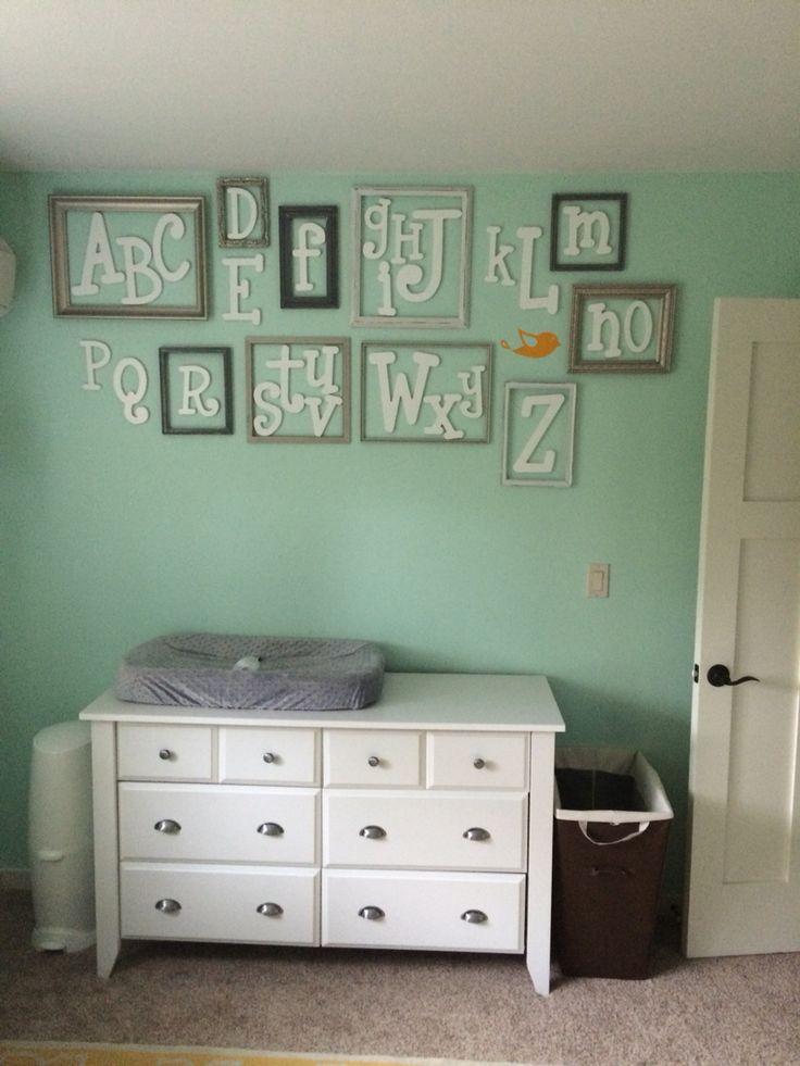 Alphabet wall!!!