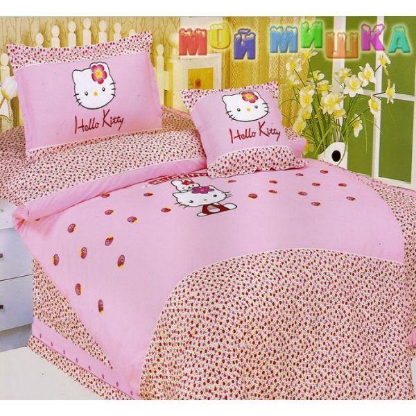 Постельное белье Hello Kitty Pink
