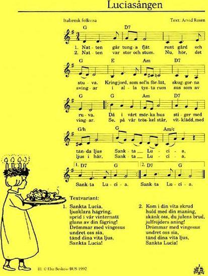 spartito Santa Lucia songs