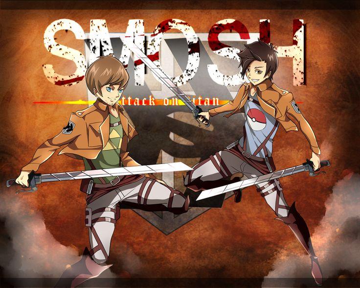 Ian and Anthony - Smosh - Shingeki no Kyojin parody