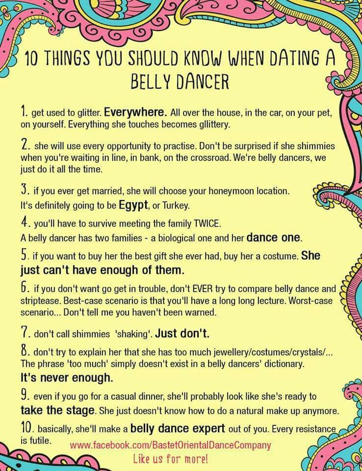 Things To Know About Dating A Dancer