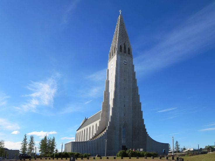 The Hallgrimskirkja in Reykjavik, Iceland, took 41 years to build (1945 to 1986).