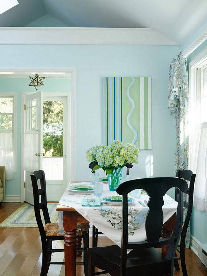 Small Dining Room Decorating Ideas Erin O Connor Design Gridley Graves Photographers Coastalcottage