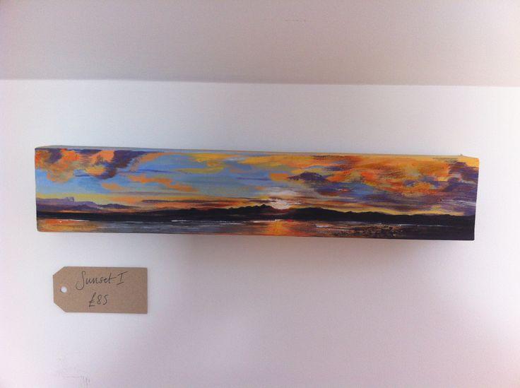 Ettrick Bay sunset, www.ruthslater.com