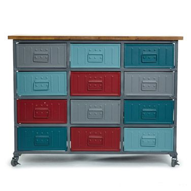 multi Carolyn Donnelly Eclectic Drawer Unit