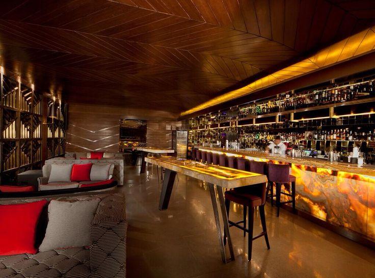 Indoor bar area