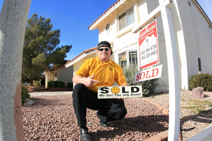 Michael Klinger Listing Agent with SOLD Sign on recent sale in Henderson NV    Contact Michael to sell your home for top dollar!