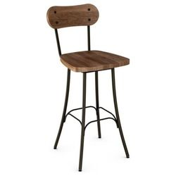 Well Cushioned Seat Br The Unity Counter Stool In Steel From Amisco Has A Contemporary Look With Comfort Of Full Backrest And Padded