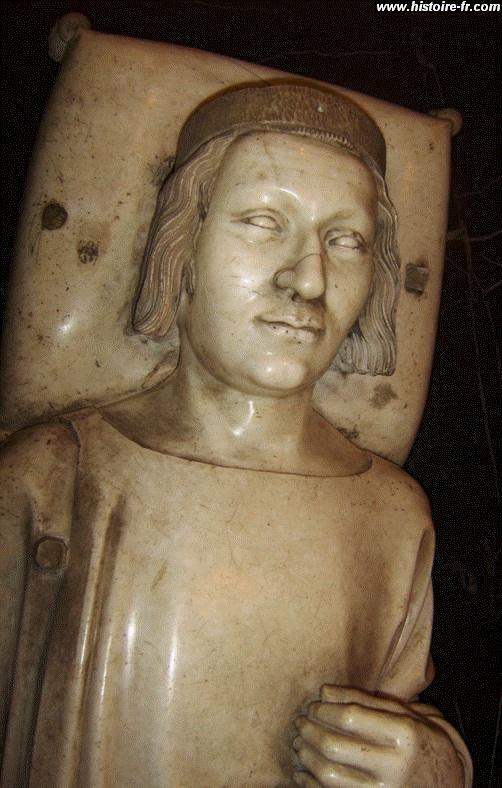 Gisant de Charles V, 1374, église st Denis, Paris