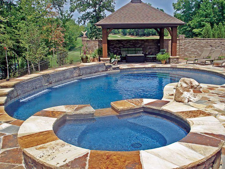 Pavilion Built By Blue Haven Pools