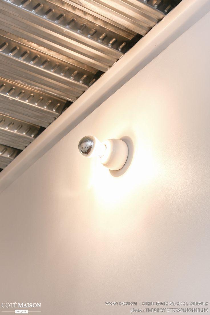 Rénovation et décoration d'un loft Romainville#appliquel#WOM Design - Stéphanie Michel-Girard - Côté Maison