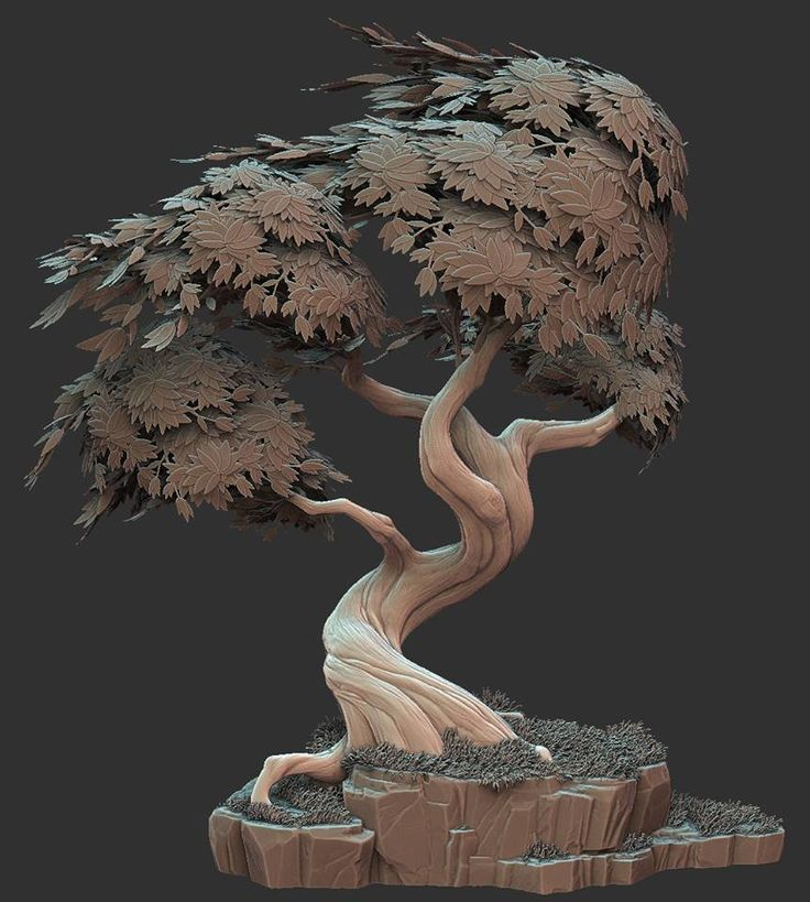 Stylized Tree, Ben Lewis on ArtStation at https://www.artstation.com/artwork/stylized-tree-69cc44eb-5858-4e0f-a6bf-117cae60768f